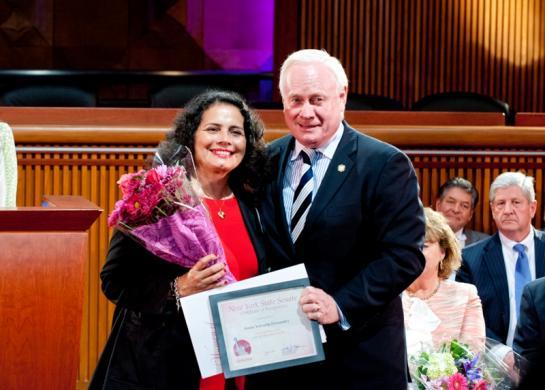 Woman of Distinction 2012