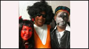 Dov Hikind in Blackface