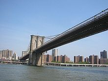 The Al Smith Houses between the Brooklyn and Manhattan Bridges