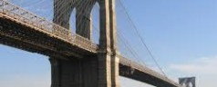 Emergency Services Police Prevent Suicide at Brooklyn Bridge