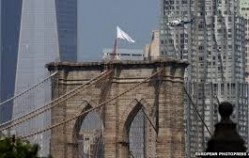 Brooklyn Bridge Flags Stolen: Replaced with White Flags in Mysterious Bold Incident