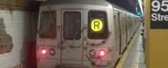 """""""R"""" Train Returning to Brooklyn-Manhattan Service"""