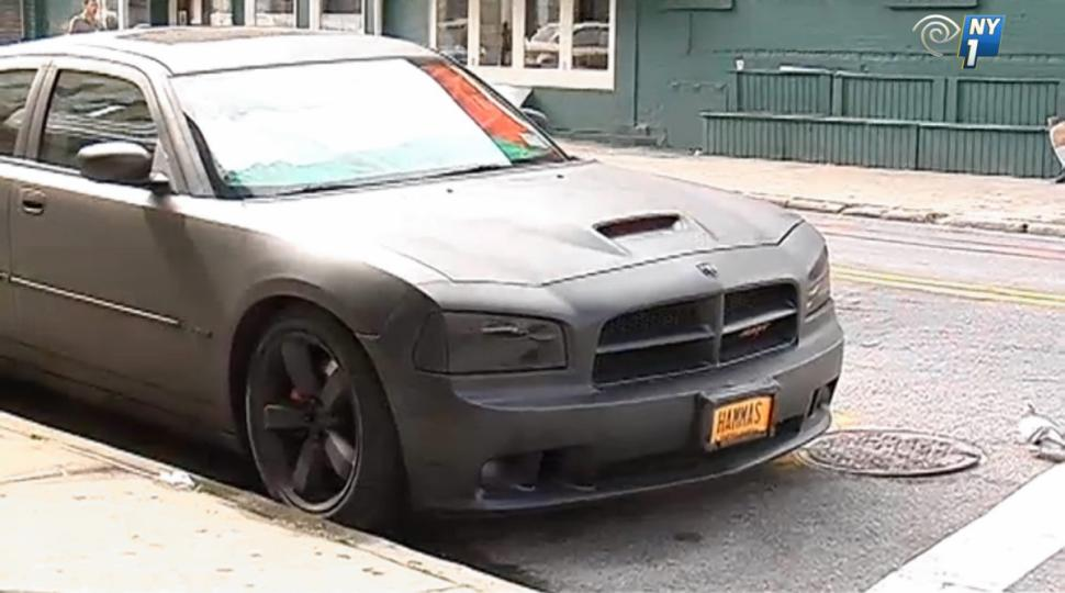 Provocative custom license plate to be pulled in brooklyn for Motor vehicle in brooklyn