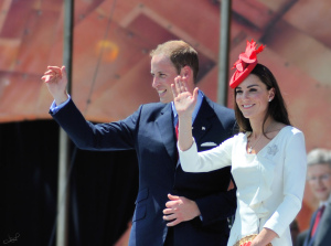 Kate and William on Canada Day, 2011 by http://commons.wikimedia.org/wiki/User:Skeezix1000