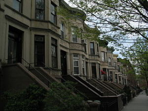 Historic Brownstones in Park Slope photo by GK tramrunner