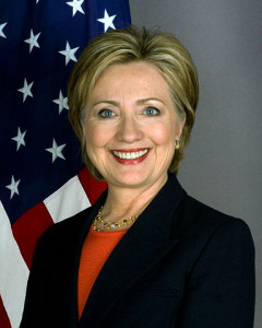 """Hillary Clinton official Secretary of State portrait crop"" by United States Department of State - Official Photo at Department of State page. Licensed under Public Domain via Wikimedia Commons"