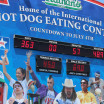 Major Upset in Nathan's Dog Eating Contest