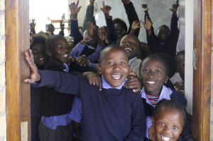 Schoolchildren in South Africa. Photo by Godot13
