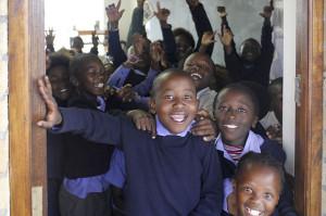 Schoolchildren in South Africa. Photo by Godot13