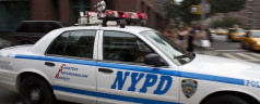 Vandals De-face Brooklyn Police Car