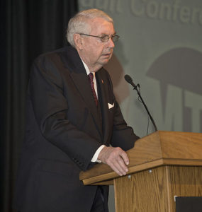 Charles Hynes in 2012. Photo courtesy of Metropolitan Transportation Authority of the State of New York