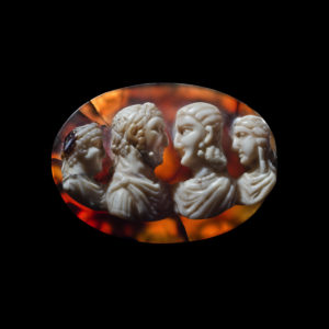 Phoenix Ancient Art cameo