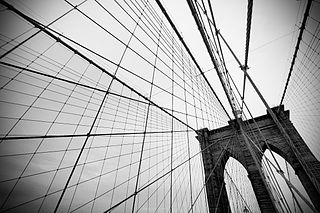 The Brooklyn Bridge by Carmelo Bayarcal.