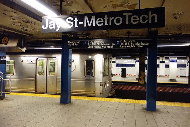 Busy Brooklyn Subway Station Testing Ground for Accessibility