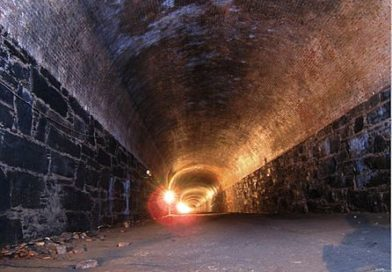 Abandoned Subway Tunnel Retrofitted as 18th Century French Underground Bar in Brooklyn