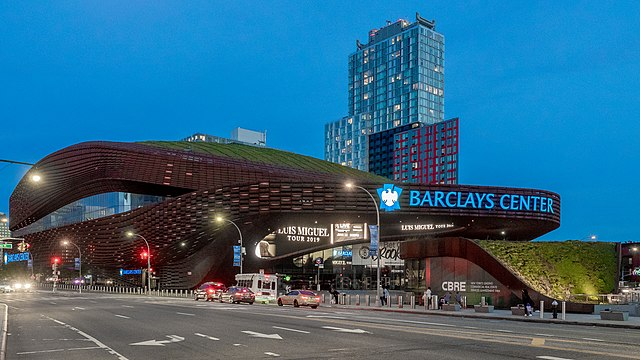 Food Bank Pops Up at Barclays Center