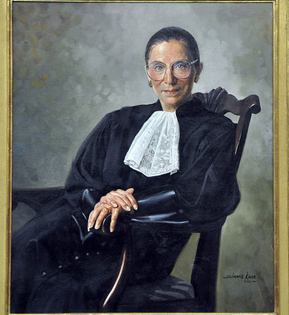 Marc and Gillie to Reveal RBG Sculpture in March 2021