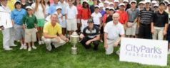 Pro Golfer Rory McIlroy Coaches 50 Junior Golfers in Brooklyn